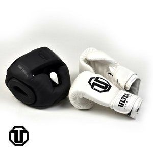 Ultra fitness gear Boxing Gloves And Head Gear